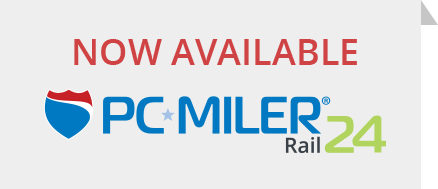 PC*MILER Rail Now Available